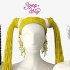 音楽を奏でるウィッグ「Song Wig」を発表 - クリエイティブ・ラボPARTY