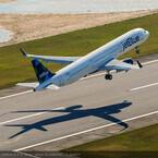 エアバス、米工場製造初のA321が初飛行 - 数週間後にジェットブルーへ
