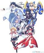 TVアニメ『魔装学園H×H』、メインビジュアル公開! キャスト&スタッフ発表