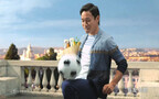 長友佑都らが「直径85%カット」のサッカーボールで妙技を披露!