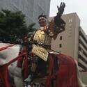 袴田吉彦、甲冑姿で前田利家に - 乗馬で石川・金沢の「百万石行列」に登場