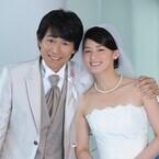 尾野真千子&江口洋介がウエディングショット褒め合い「きれい」「かっこいい」