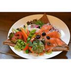 グルテンフリーの生地で夏野菜を包んだ「サラダガレット」が登場