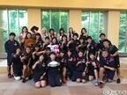 E-girls、女子ラグビーリオ五輪代表をサプライズ訪問 - 感動で互いに涙も