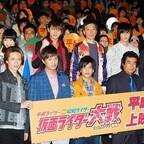 『仮面ライダー大戦』平成勝利に藤岡弘、「若者が日本の未来をつくる。仮面ライダーは永遠」 (1) 平成vs昭和は760票差で平成勝利
