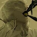 『デスノ』新死神の名はアーマ! 東出・池松がノート保管室に集う写真も公開