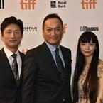 渡辺謙が男泣き! 主演作『怒り』のトロント映画祭上映で「温かさ感じた」