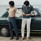 池松壮亮×斎藤工『無伴奏』キス直前のメイキング公開「チューされるんだ」