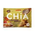 チアシード約3,000粒が入ったビスケット「しぜん食感 CHiA メープル」発売