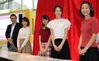 テレ朝アナウンサーがカレンダー手渡し販売会に参加、新潟・山口からも来場