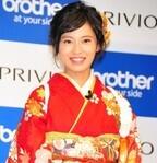 小島瑠璃子、振り袖姿で「やればやるほどバラエティーが好きに」