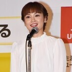 平愛梨、流行語受賞で涙&笑顔の