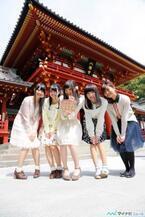 TVアニメ『ハナヤマタ』、今夏放送決定! キャスト陣が鶴岡八幡宮を参拝