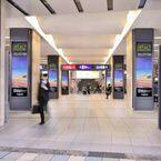 京阪電気鉄道、京橋駅中央改札付近に12面の大型デジタルサイネージを設置へ
