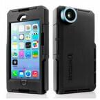 フォックス、170度広角レンズが付いた防水・耐衝撃iPhone 5/5sケース