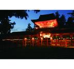 東京都・六本木ヒルズに奈良の春日大社回廊が出現! 夜には万燈篭の点灯も