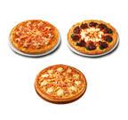 ピザハットから、本ずわい蟹やアンガス牛など厳選素材使用のピザ3種発売