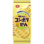 亀田製菓からコーンポタージュ味のせんべい発売 - 「懐かしカレーせん」も