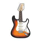 島村楽器、バイオリンやギターをリアルに再現した「楽器うちわ」5種を発売