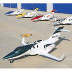 ホンダ、小型ビジネスジェット機「ホンダジェット」量産1号機を初公開