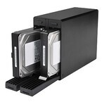 センチュリー「裸族」、最新作はHDD×2台を内蔵できるRAID対応HDDケース