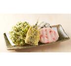 丸亀製麺、「いわし天」など天ぷら3種とおむすび2種を期間限定で販売