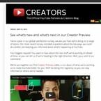 米YouTube、クリエイター専用アプリや収益化システムなど今後の計画を公開