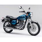 250ccのクラシックスポーツ「エストレヤ」の新モデルが登場 - カワサキ