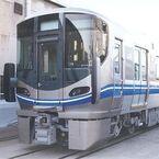 JR西日本、車両安全対策の一環で先頭車両間連結部へ「転落防止ホロ」装備