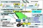 NTTデータ、高精度衛星測位システムを利用した農機自動化運用 - cm精度確保