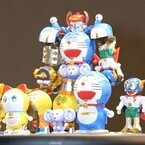 ドラえもん、パーマン、コロ助ら藤子Fのキャラクターが6体合体で超合金ロボ化