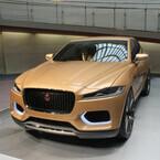東京都・青山にジャガー「C-X17」コンセプトモデルを展示! 大阪でも実施へ