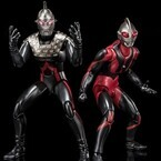 漆黒のウルトラ兄妹『ウルトラマンダーク&セブンダーク』がULTRA-ACTで立体化