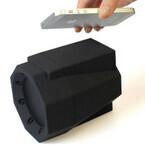 レトロ×シンプルなスマホ向け「タッチスピーカー BOOMBOX」が発売