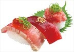 マグロを旨みを1皿で3通り味わえる! 回転寿司のスシローが30周年記念祭