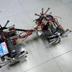 大阪市大、橋の鋼鉄部材を検査できる橋梁検査ロボット「バイリム」を開発
