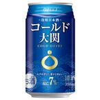 アルコール分7%で350ml缶入りの冷用日本酒「コールド大関」