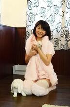 うさぎと遊べるメイドカフェ「うさぎの館」に行ってみた! (1) うさぎカフェ×メイドカフェ!?
