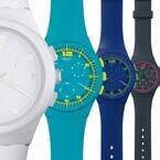 スウォッチ「クロノプラスティック」10色のカラーでデザイン一新!