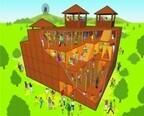 なんと5階建て!世界初の複層型巨大迷路「カラクリ砦」、この夏オープン