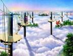 最高8mの空中散歩。天狗の気分が味わえるアスレチック誕生-富士急行
