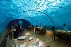 水深5mのレストランが夜は水族館に! モルディブのリゾートが新展開