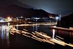 広島県尾道市で千個もの灯籠流しで先祖の供養