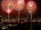 静岡県熱海市で、クリスマスイブの夜に「熱海海上花火大会」開催