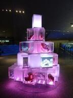 東京都・すみだ水族館、赤とピンクの照明と生き物でバレンタインを演出