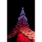 ホワイトデー、東京都・東京タワーが白色に! -歩ける外階段の夜間開放も