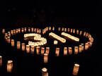 福島県棚倉町で、東日本大震災の前夜に「福幸キャンドルナイト」開催