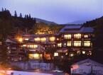熊本県の美人女将オススメ「黒川温泉」名湯巡りは、真っ黒コロッケとともに