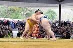 三重県で、天照大御神の神宮に相撲を奉納する「神宮奉納大相撲」開催