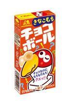 """森永製菓、もちグミをきなこチョコで包んだ""""チョコボール きなこもち""""発売"""